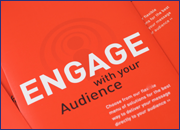 Engage with you Audience graphic