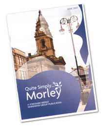 Image of a Leaflet for Quite Simply Morley